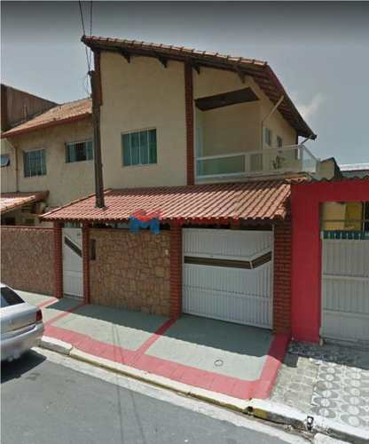 Sobrado, código 412386 em Praia Grande, bairro Boqueirão
