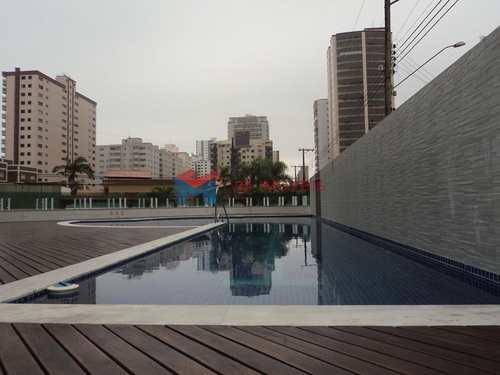 Apartamento, código 412463 em Praia Grande, bairro Caiçara