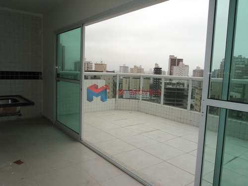 Apartamento, código 412590 em Praia Grande, bairro Caiçara