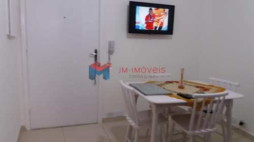Kitnet, código 413485 em Praia Grande, bairro Caiçara