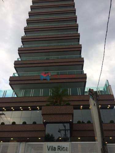 Apartamento, código 413843 em Praia Grande, bairro Caiçara