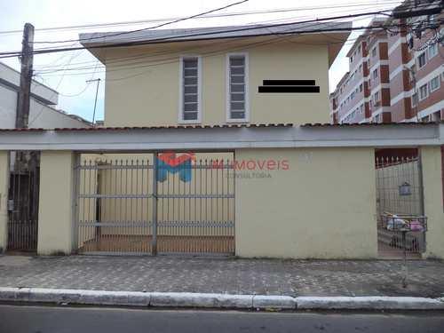 Casa de Condomínio, código 414078 em Praia Grande, bairro Canto do Forte