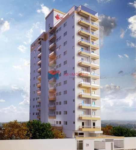 Apartamento, código 414100 em Praia Grande, bairro Caiçara