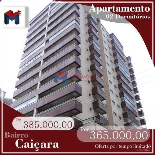 Apartamento, código 414185 em Praia Grande, bairro Caiçara