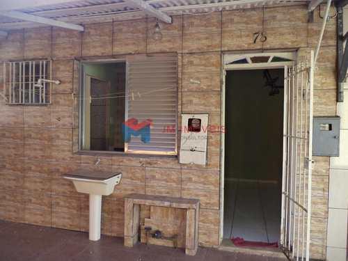 Casa de Vila, código 414296 em Praia Grande, bairro Caiçara
