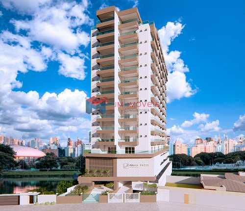 Apartamento, código 414393 em Praia Grande, bairro Caiçara