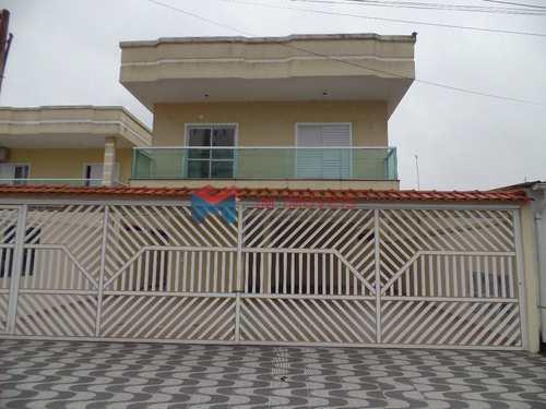 Casa de Condomínio, código 414514 em Praia Grande, bairro Antártica
