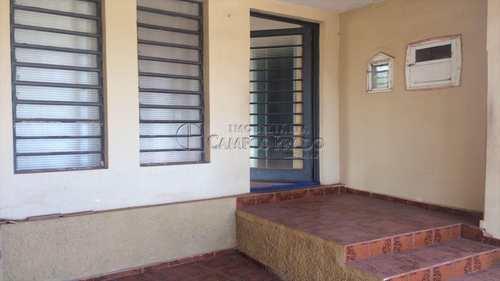 Casa, código 46595 em Jaú, bairro Vila Padre Nosso