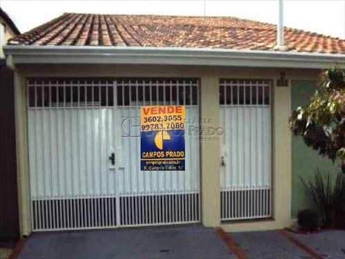 Casa, código 4537 em Jaú, bairro Santo Antônio