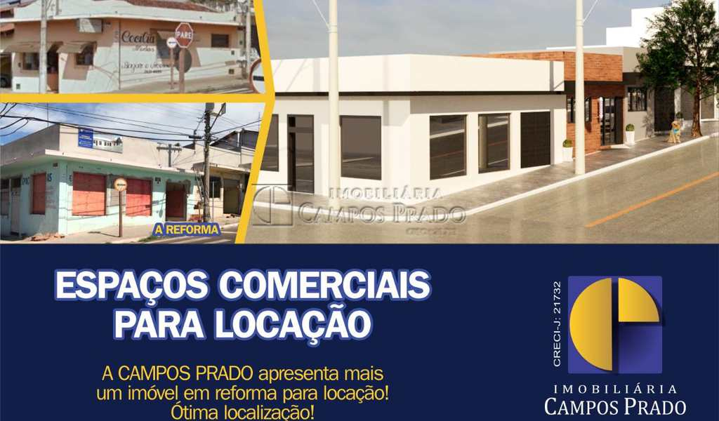 Conjunto Comercial em Jaú, bairro Jardim das Paineiras