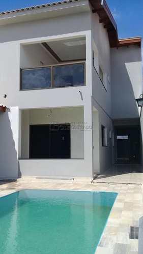 Sobrado, código 46854 em Jaú, bairro Jardim Dona Emília