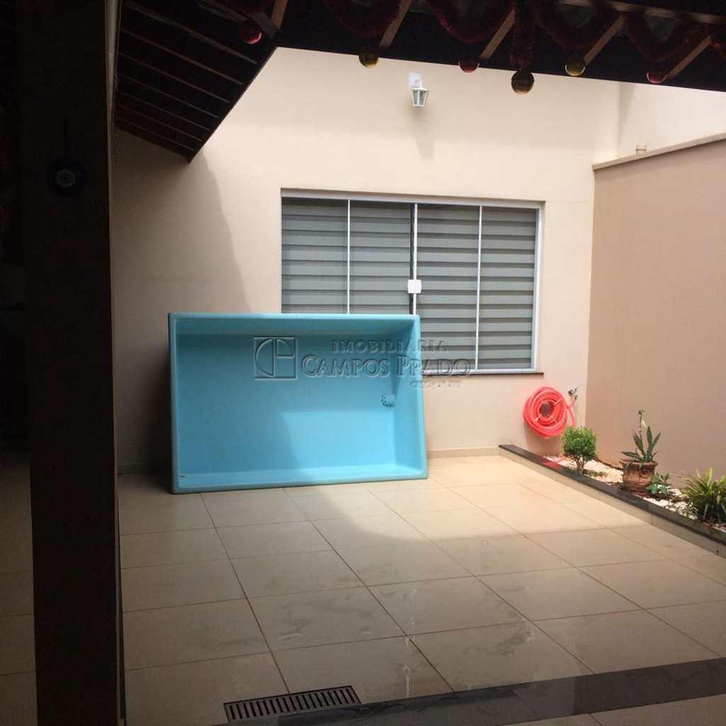 Casa em Jaú, no bairro Jardim Campos Prado