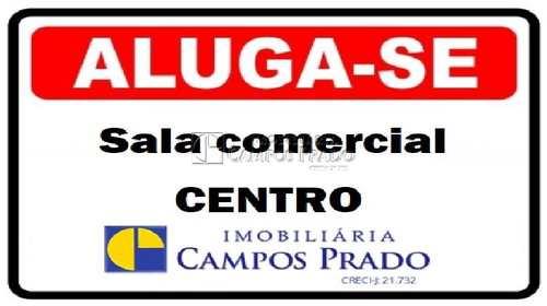 Sala Comercial, código 47413 em Jaú, bairro Centro