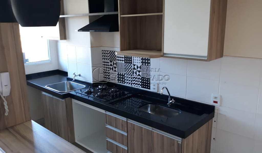 Apartamento em Jaú, bairro Conjunto Habitacional dos Comerciários I