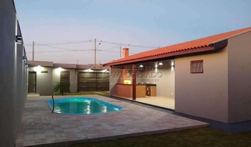 Casa em Jaú, bairro Residencial Campo Belo