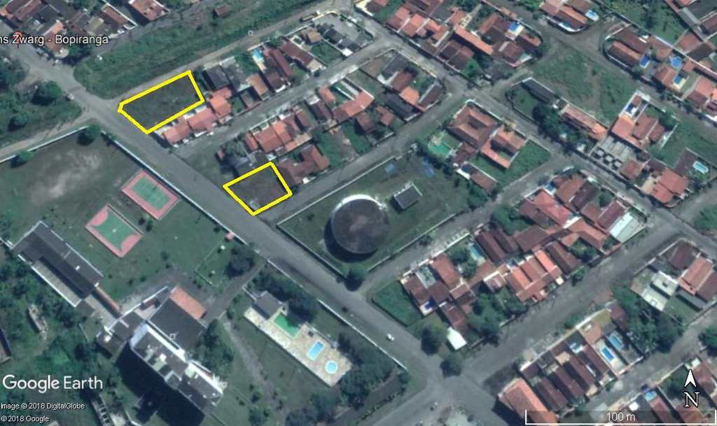 Terreno em Itanhaém, no bairro Jardim Bopiranga