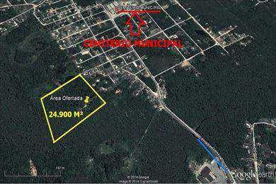 Terreno, código 3824 em Itanhaém, bairro Jardim Coronel