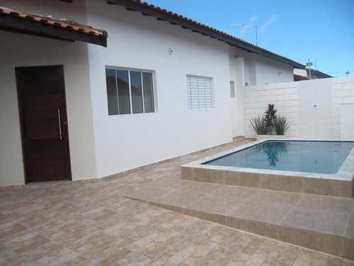 Casa, código 5219 em Itanhaém, bairro Cibratel II