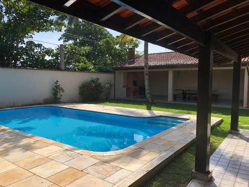 Casa, código 5241 em Itanhaém, bairro Cibratel II