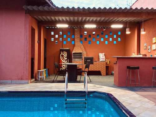 Casa, código 5251 em Itanhaém, bairro Cibratel I