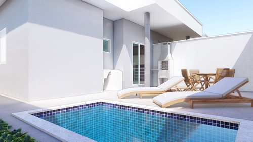Casa de Condomínio, código 5375 em Itanhaém, bairro Jardim São Fernando