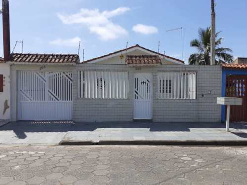 Casa, código 5413 em Itanhaém, bairro Gaivotas