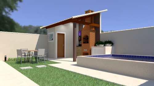 Casa, código 5568 em Itanhaém, bairro Balneário Marrocos