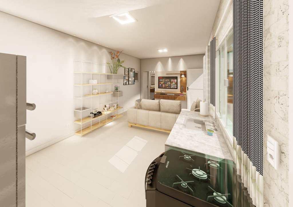 Casa em Itanhaém, no bairro Jardim Savoy