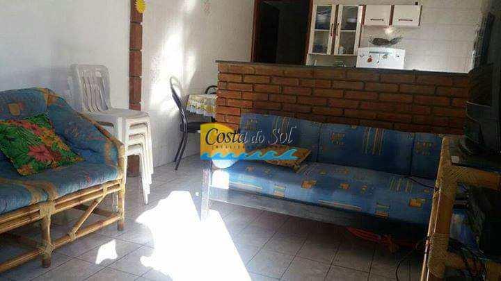 Casa em Itanhaém, no bairro Corumbá