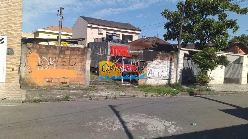 Terreno Comercial em Santos, no bairro Rádio Clube