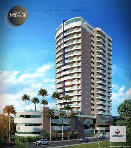 Apartamento, código 286683 em Mongaguá, bairro Jardim Aguapeu