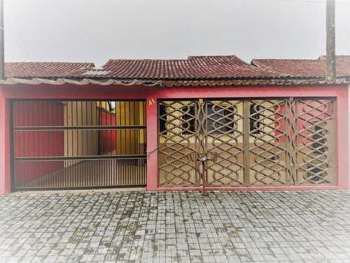 Casa, código 286750 em Mongaguá, bairro Jardim Aguapeu