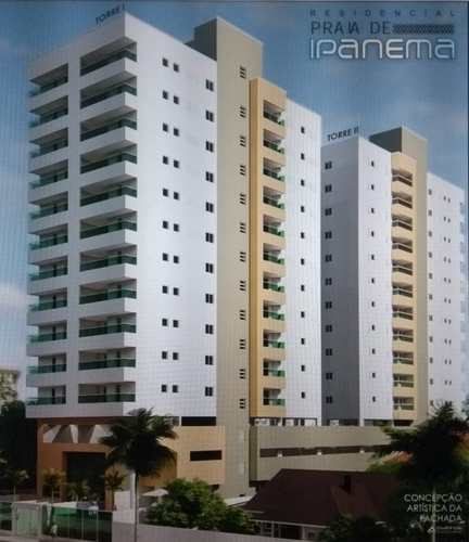 Apartamento, código 286842 em Mongaguá, bairro Centro