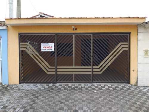 Casa, código 286929 em Mongaguá, bairro Jardim Aguapeu