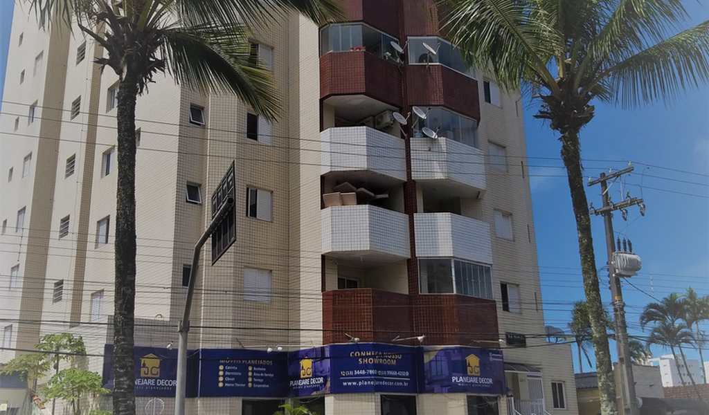 Apartamento em Mongaguá, bairro Jardim Samoa