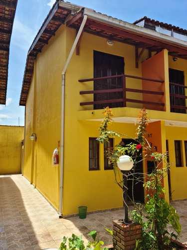 Sobrado de Condomínio, código 287156 em Mongaguá, bairro Vila Atlântica