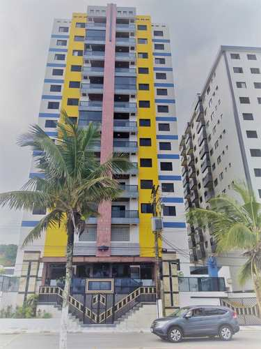 Apartamento, código 287167 em Mongaguá, bairro Jardim Marina
