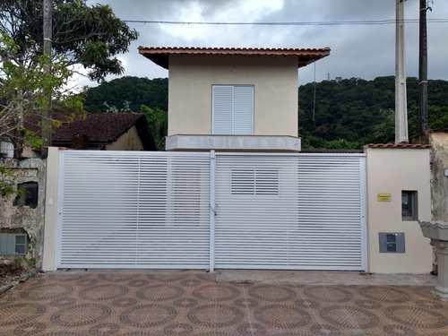 Sobrado, código 287178 em Mongaguá, bairro Jardim Aguapeu