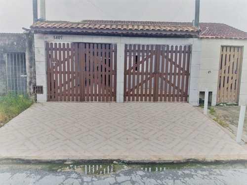 Casa, código 287181 em Mongaguá, bairro Balneário Litoral Paulista