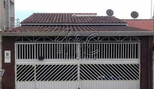 Casa, código CA0848 em Sorocaba, bairro Jardim Santa Paula II