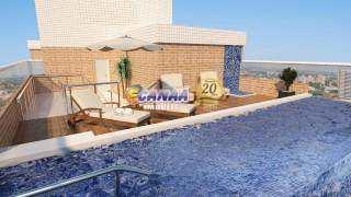 Apartamento, código 7123 em Praia Grande, bairro Caiçara