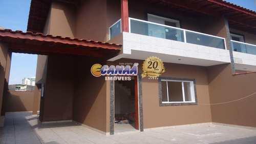 Sobrado, código 6173 em Mongaguá, bairro Vera Cruz