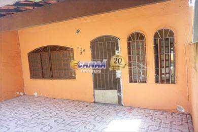 Casa em Mongaguá, no bairro Balneário Regina Maria