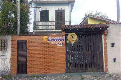 Sobrado, código 5293 em Mongaguá, bairro Balneário Flórida Mirim