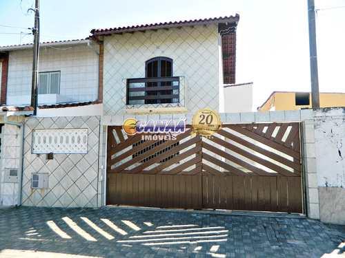 Sobrado, código 7338 em Mongaguá, bairro Balneário Regina Maria
