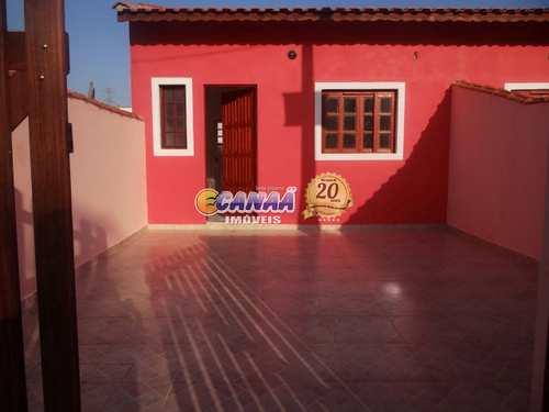 Casa, código 7475 em Mongaguá, bairro Itaóca