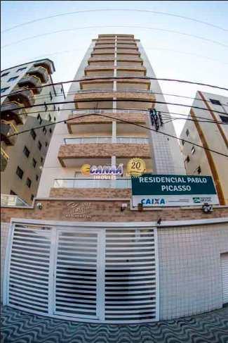 Apartamento, código 7554 em Praia Grande, bairro Caiçara