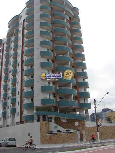 Apartamento, código 7572 em Mongaguá, bairro Centro