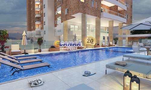 Apartamento, código 7589 em Praia Grande, bairro Guilhermina
