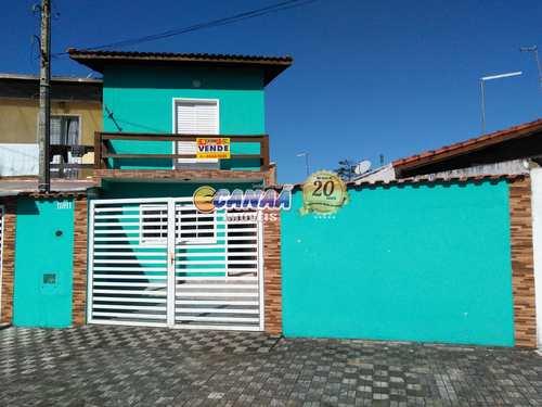 Sobrado, código 7770 em Mongaguá, bairro Balneário Flórida Mirim